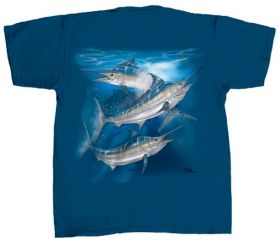 Μπλουζάκι Flying Fisherman Blue Marlin